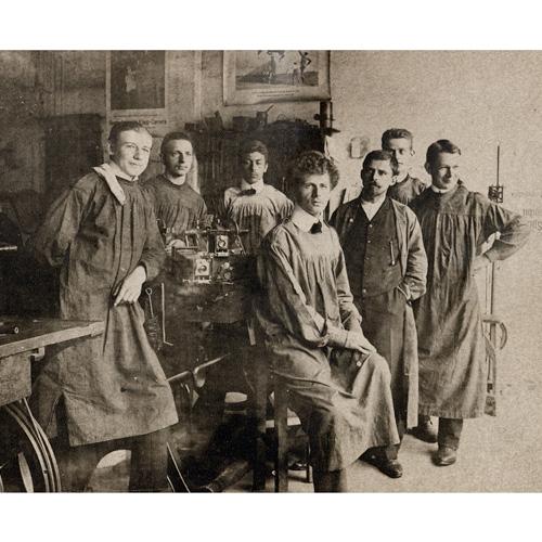 Linhof Werkstatt, ca 1900